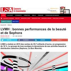 LVMH : bonnes performances de la beauté et de...