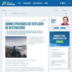 Bonnes pratiques de sites Web de destinations