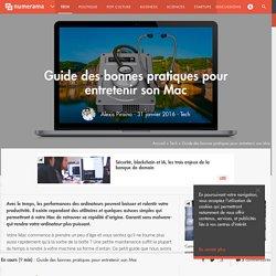 Guide des bonnes pratiques pour entretenir son Mac - Tech