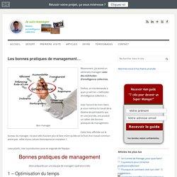 Les bonnes pratiques de management