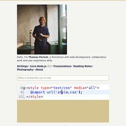 Bonnes pratiques de codage CSS