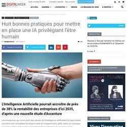 Huitbonnes pratiques pour mettre en place une IA privilégiant l'être humain