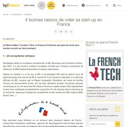 4 bonnes raisons de créer sa start-up en France