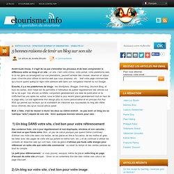 5 bonnes raisons de tenir un blog sur son site
