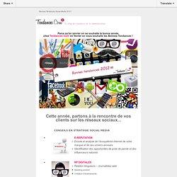 Bonnes Tendances Social Media 2012