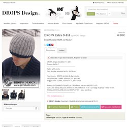 "DROPS Extra 0-814 - Bonnet homme DROPS, en ""Alaska"". - Free pattern by DROPS Design"