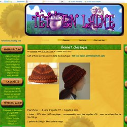 Bonnet classique