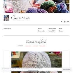 Bonnet étoile facile – Cassie tricote