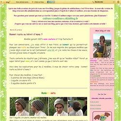 Bonnet rasta ou béret d'nana