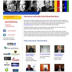 The de Bono Group - Interviews And Audio