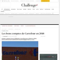 Les bons comptes de Carrefour en 2018