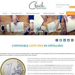 BONUS : le juste-prix en hôtellerie
