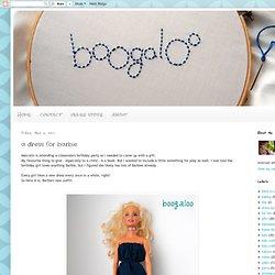 a dress for barbie