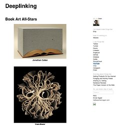 Book Art All-Stars at Deeplinking