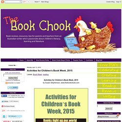 Activities for Children's Book Week, 2015