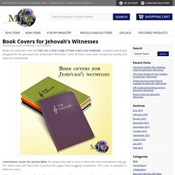 Book Covers for Jehovah's Witnesses