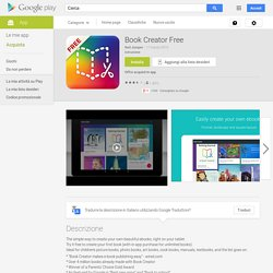 Book Creator Free - App Android su Google Play
