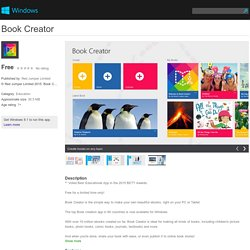 Book Creator app for Windows in the Windows Store