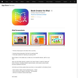 Book Creator for iPad on the AppStore