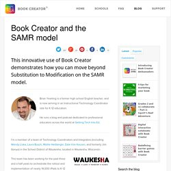 Book Creator and the SAMR model