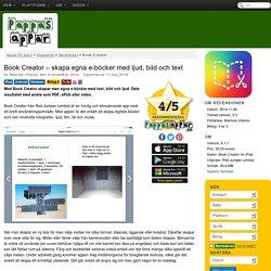 Book Creator - skapa egna e-böcker med ljud, bild och text