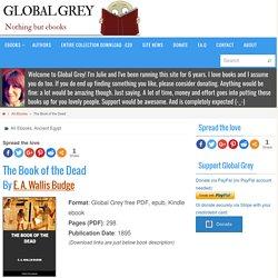 The Book of the Dead, Free PDF, ebook, epub