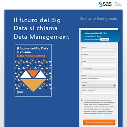 e-Book - Il futuro dei Big Data si chiama Data Management