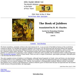 Book of Jubilees Index