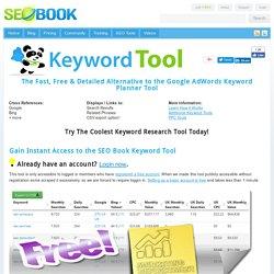 Seo Book Keyword Suggestion Tool