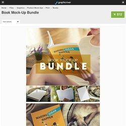 Book Mock-Up Bundle