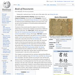 Book of Documents - Wikipedia
