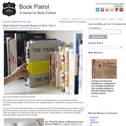 Book Patrol's Favorite Books of 2014: Part 1