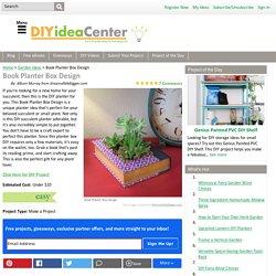 Book Planter Box Design