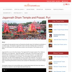 Book your prasad and Puja at the Jagannath Dham Temple, Puri