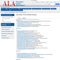 ALA - Book, Print & Media Awards