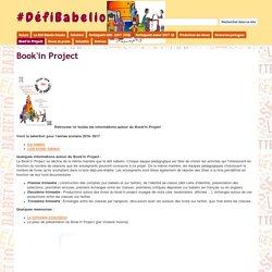 Book'in Project - #DéfiBabelio