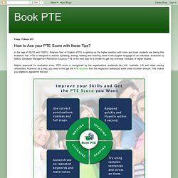 Book your PTE Exam Online with PTE Voucher in India
