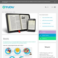 Illustrated Books for iPad, iPhone and the Web