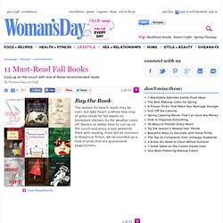New Book Releases - Fall Books at WomansDay.com
