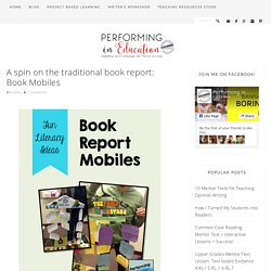 Book Report Mobiles