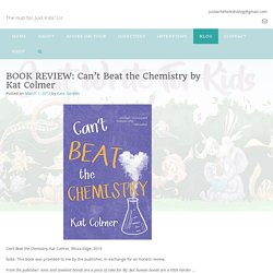 BOOK REVIEW: Can't Beat the Chemistry by Kat Colmer -