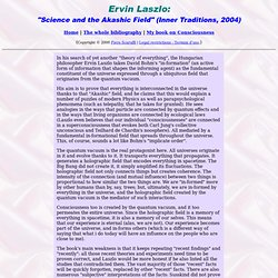 Book review of Ervin Laszlo