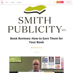 Book Reviews: How to Earn Them for Your Book