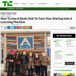 How To Use A Book Club To Turn Your Startup Into A Learning Machine