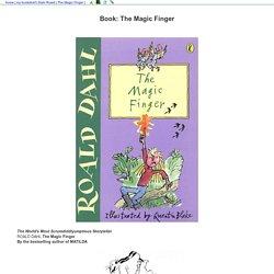 Book: The Magic Finger