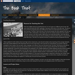 The Book Thief: Teaching Resources