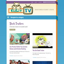 Book Trailers Archives - KidLit.TV