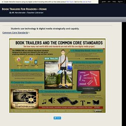 Book Trailers and the Common Core Standards