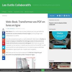Web-Book. Transformez vos PDF en livres en ligne