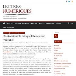 Bookalicious: la critique littéraire sur Youtube!